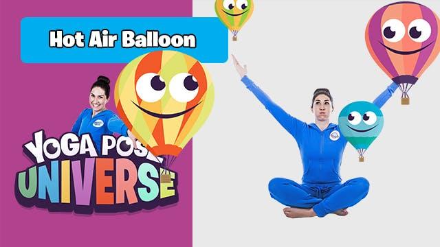 Hot Air Balloon Pose | Yoga Pose Univ...