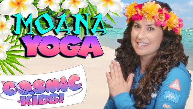 Moana | A Cosmic Kids Yoga Adventure!
