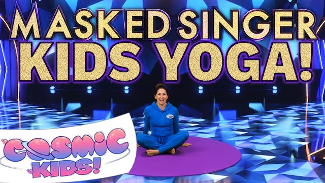 The Masked Singer Yoga Adventure!