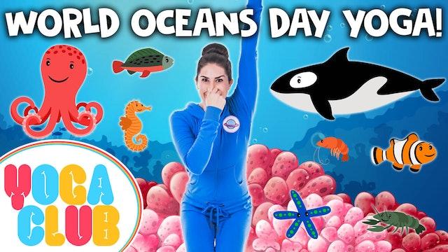 YOGA CLUB! Week 44 - World Oceans Day 🌊