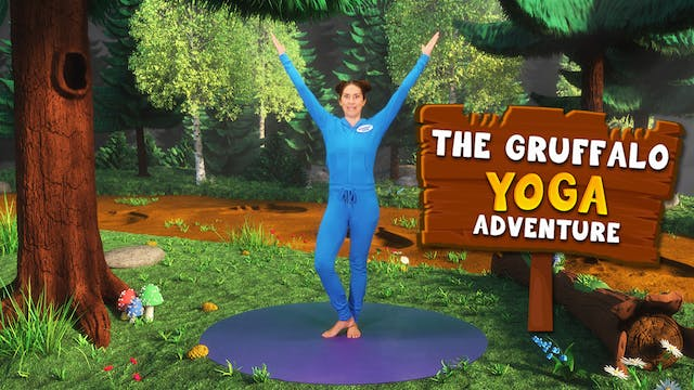 The Gruffalo | A Cosmic Kids Yoga Adv...