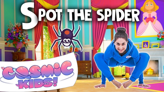Spot the Spider | A Cosmic Kids Yoga Adventure (app exclusive)