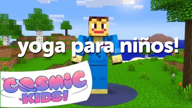 Minecraft | Una aventura de Cosmic Kids Yoga!
