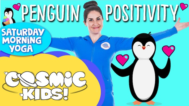 Saturday Morning Yoga! | Penguin Positivity