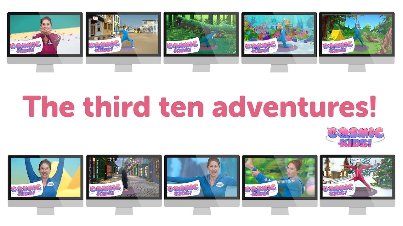 BUNDLE: The Third Ten Cosmic Kids adventures!