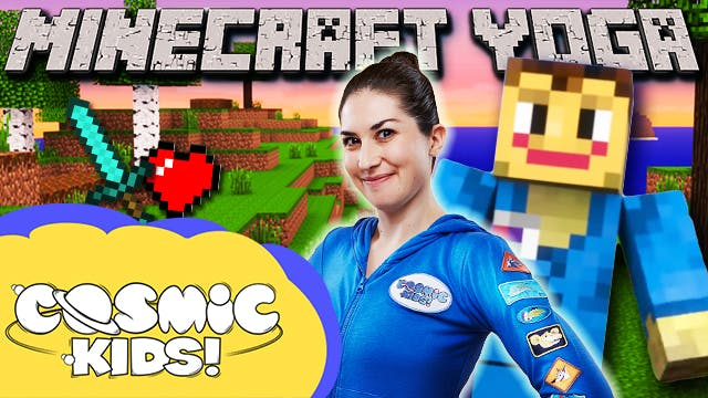 Saturday Morning Yoga | Minecraft 🧱👾