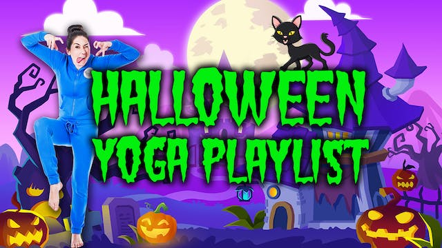 Halloween Yoga Playlist!