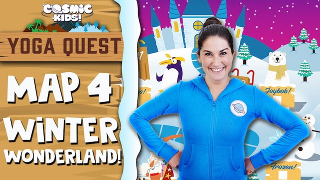 YOGA QUEST | MAP 4: Winter Wonderland! 🎄