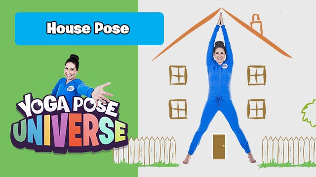 House Pose | Yoga Pose Universe!
