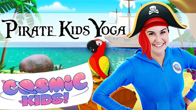 Pirate themed Kids Yoga!