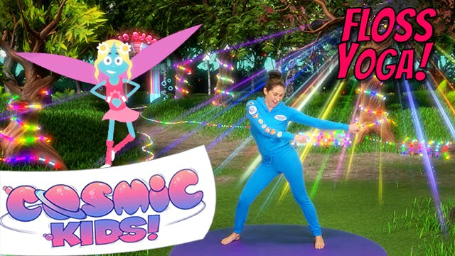 Fairy Floss | A Cosmic Kids Yoga Adve...