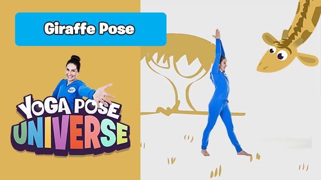 Giraffe Pose | Yoga Pose Universe