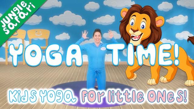 Yoga Time! | Jungle Safari
