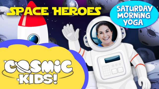 Saturday Morning Yoga | Space Heroes!