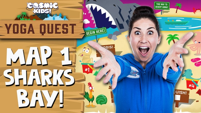 YOGA QUEST | MAP 1: Shark's Bay! 🦈