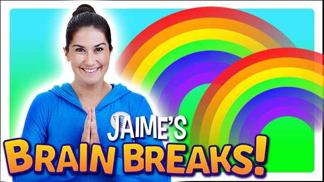 Jaime's Brain Breaks | 6. Rainbow of ...