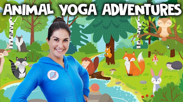 Animal Yoga Adventures! 🐰