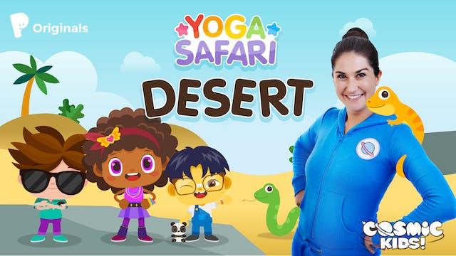 Yoga Safari | 1. Desert