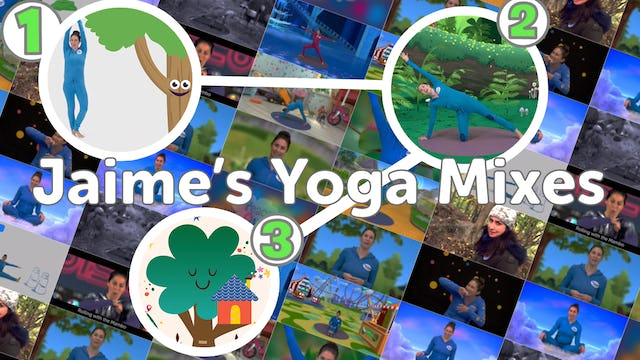 Jaime's Yoga Mixes! (Compilations)