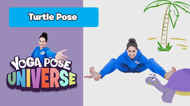 Turtle Pose | Yoga Pose Universe