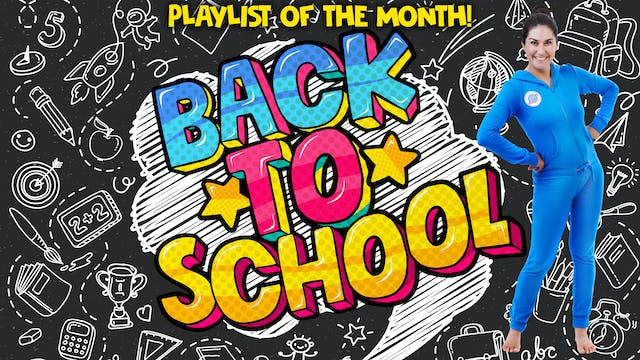 Playlist Of The Month: Back To School! 📚🍎