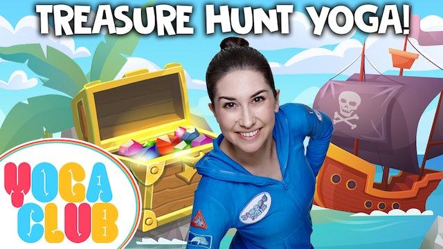 YOGA CLUB! (Week 52) Treasure Hunt Yoga 🗺