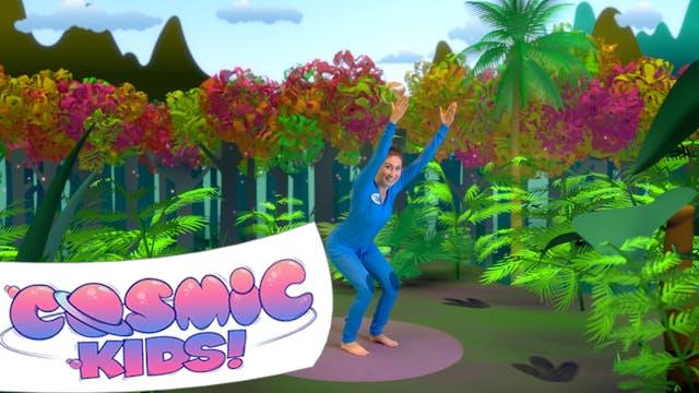 Tiny the T-Rex | A Cosmic Kids Yoga A...