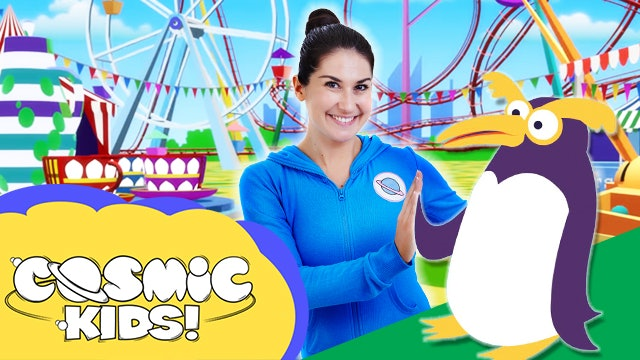 Saturday Morning Yoga | Pedro the Penguin Goes to the Funfair