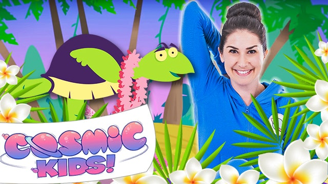 Tommy the Bedtime Turtle | A Cosmic Kids yoga adventure!