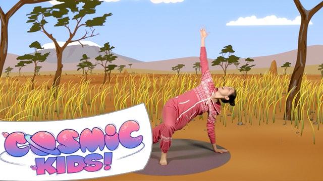 Lulu the Baby Lioness   A Cosmic Kids yoga adventure!