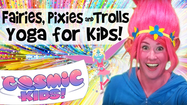 Kids Yoga and Mindfulness - all about Fairies, Pixies and Trolls