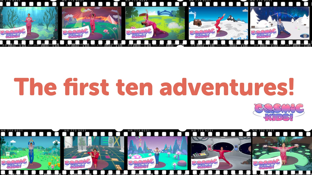 BUNDLE: The First Ten Cosmic Kids adventures!