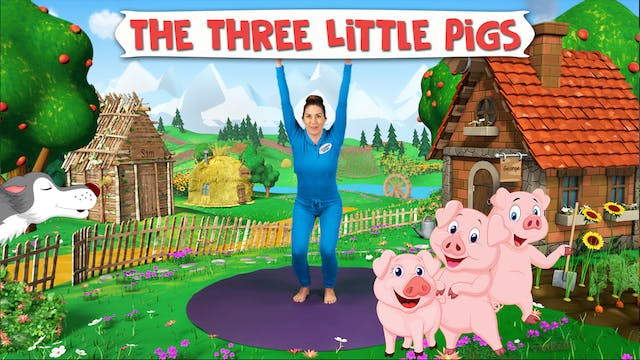 The Three Little Pigs | A Cosmic Kids...