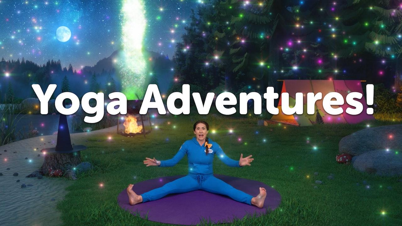 YOGA ADVENTURES!