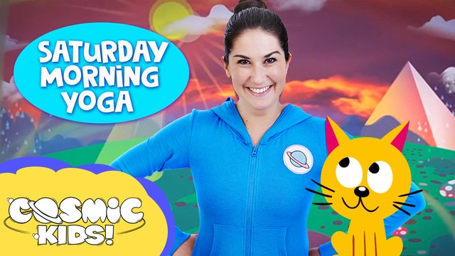 Saturday Morning Yoga | Cool Cats!