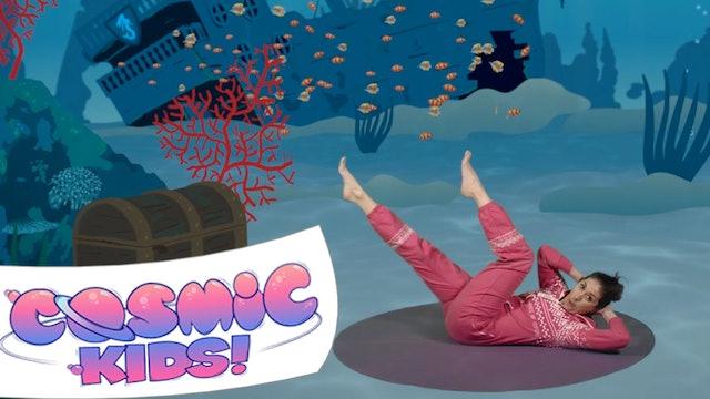 Popcorn the Dolphin | A Cosmic Kids Yoga Adventure!