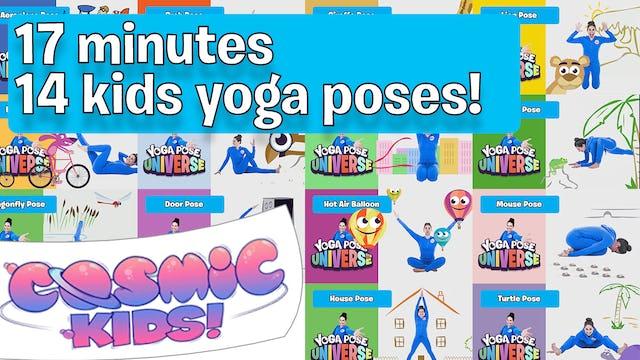 Yoga Pose Universe | Compilation 1