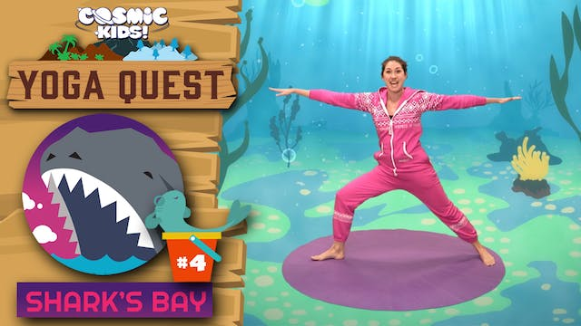 Squish the Fish | A Cosmic Kids Yoga ...