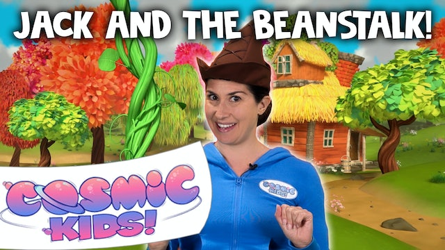 Jack And The Beanstalk 🌱(app exclusive) | A Cosmic Kids Yoga Adventure