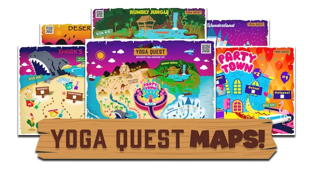 Yoga Quest Map Pack (Click to Download)