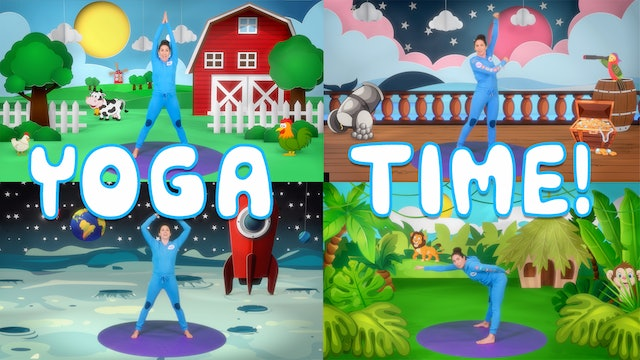 Yoga Time (yoga for little ones) | 4 episodes