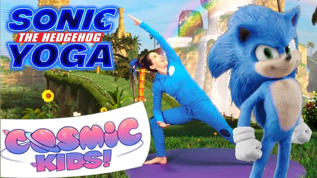 Sonic The Hedgehog | A Cosmic Kids Yoga Adventure!