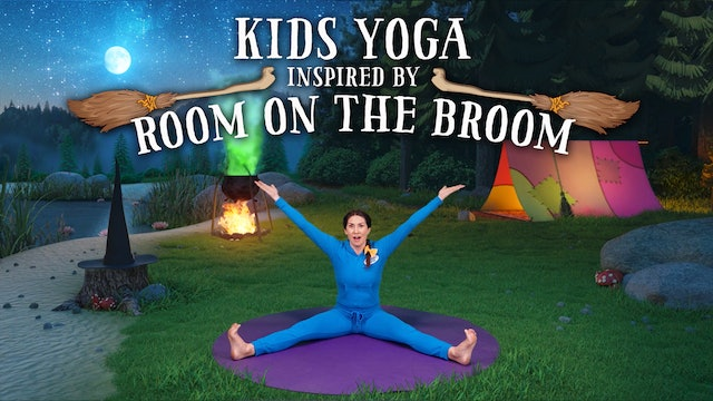 Room on the Broom (app exclusive) | A Cosmic Kids yoga adventure