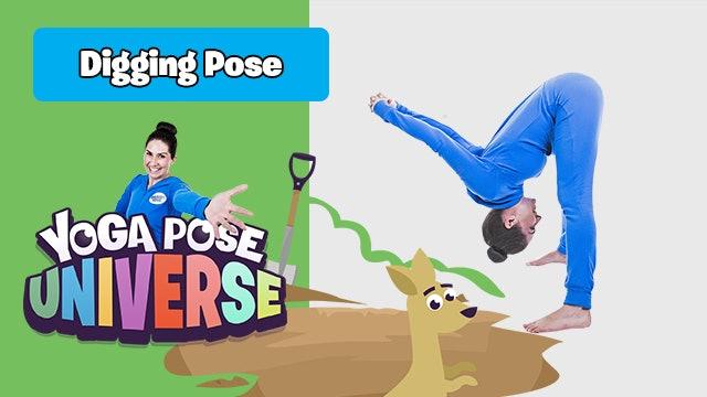 Digging Pose | Yoga Pose Universe