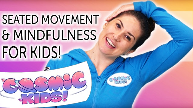 Seated Movement and Mindfulness for Kids (21 mins)