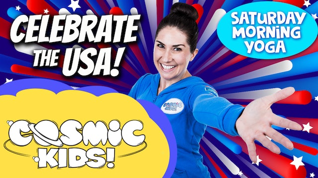 Saturday Morning Yoga | Celebrate USA!