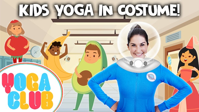 YOGA CLUB! Week 31 - Yoga in Costume! 👑🎩⛑