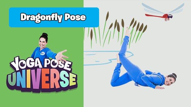 Dragonfly Pose | Yoga Pose Universe