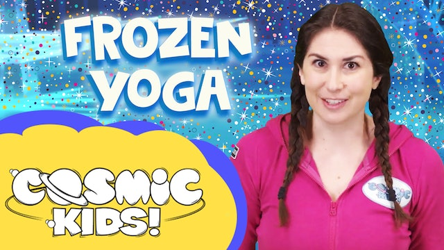 Saturday Morning Yoga | Frozen World! ❄️