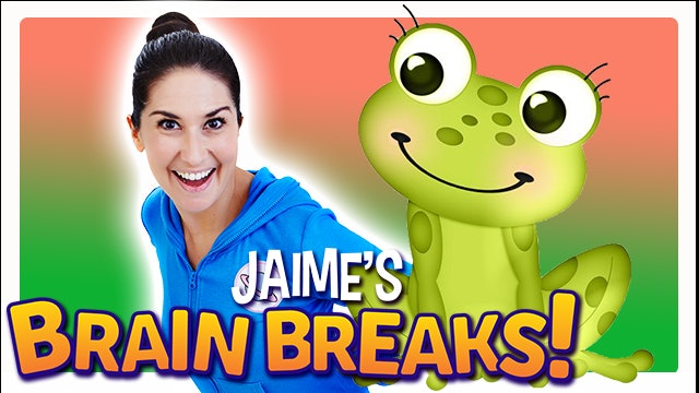 Jaime's Brain Breaks | 10. Little Green Frog